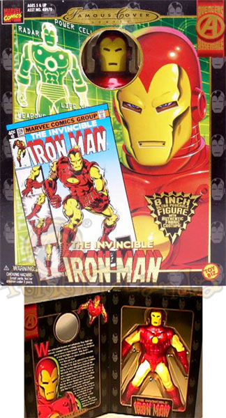 BAMBOLA MARVEL FAMOUS COVER IRON-MAN (F2)