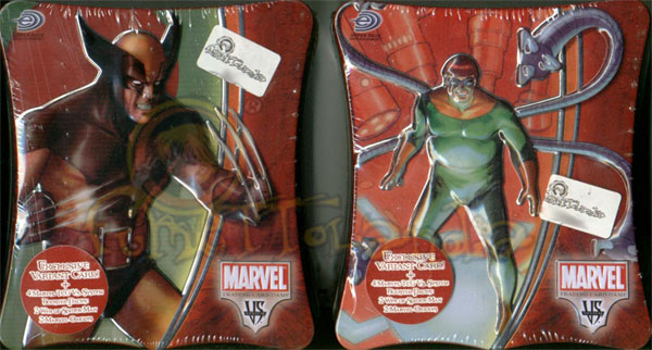 CARDS MARVEL VS SYSTEM TINS