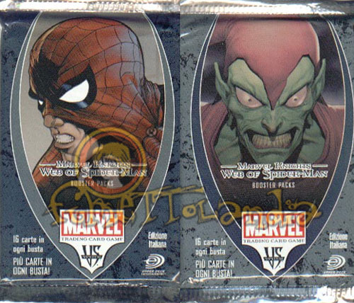 CARDS MARVEL VS SYSTEM MARVEK KNIGHTS/WEB OF SPIDERMAN BUSTE ITA