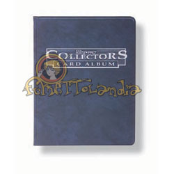 PROTECTORS BINDER 4 POCKET 10 PAGES BLUE (83010)