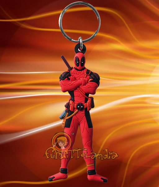 DEADPOOL SOFT TOUCH KEYRING
