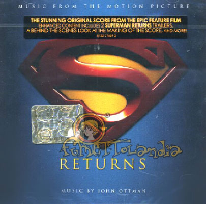 CD SUPERMAN RETURNS