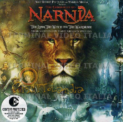 CD CHRONICLES OF NARNIA (2005) OST