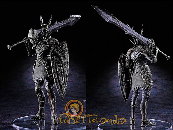 DARK SOULS: BLACK KNIGHT DFX SCULPT SERIES 3