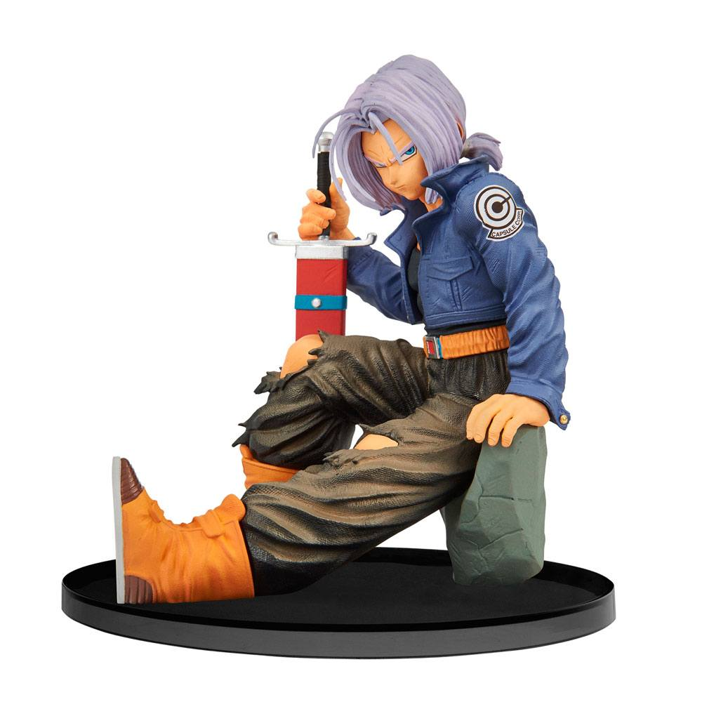 DRAGONBALL Z: BWFC - TRUNKS 2ND VER - WORLD FIGURE COLOSSEUM