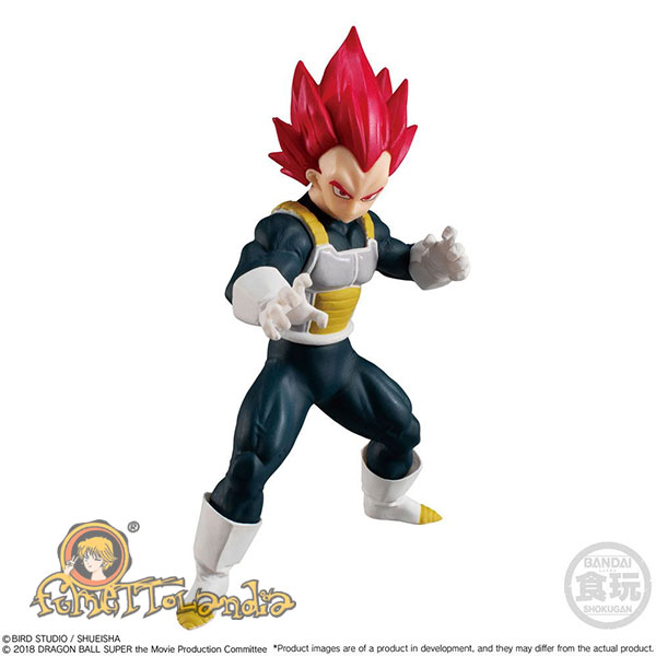 DRAGONBALL SUPER STYLING COLLECTION FIGURE SUPER SAIYAN GOD VEGE