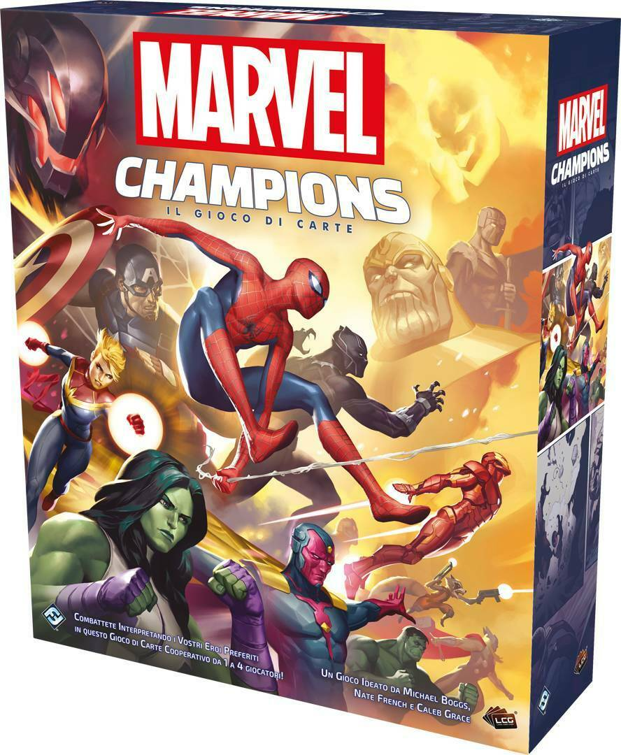 MARVEL CHAMPIONS CARD GAME SCATOLA BASE