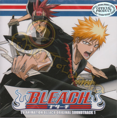 CD BLEACH TV ANIME ORIGINAL SOUNDTRACK #001