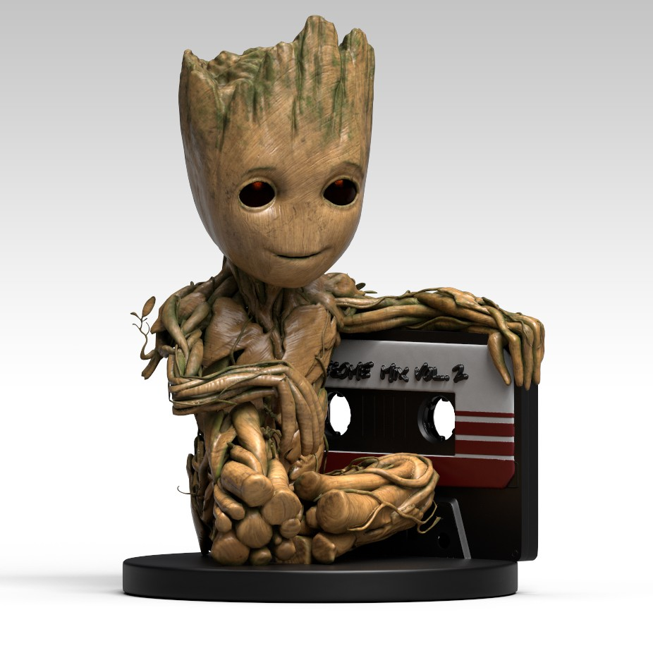 GUARDIANS OF THE GALAXY 2 COIN BANK BABY GROOT