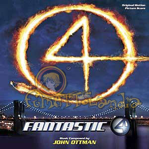 CD FANTASTIC 4 OST