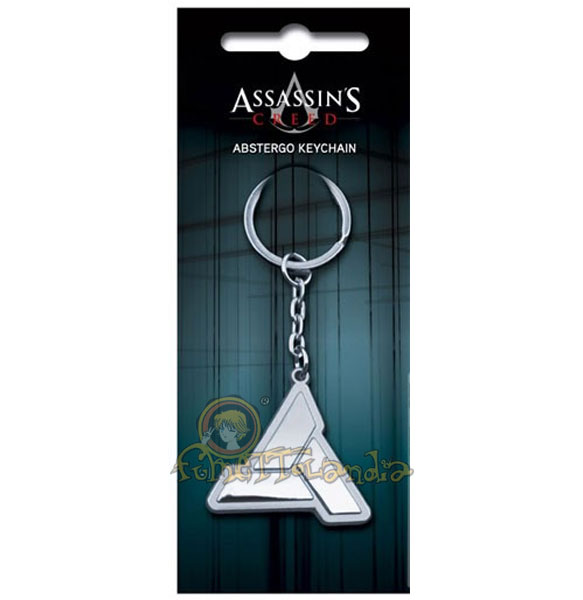 ASSASSIN'S CREED ABSTERGO KEYCHAIN