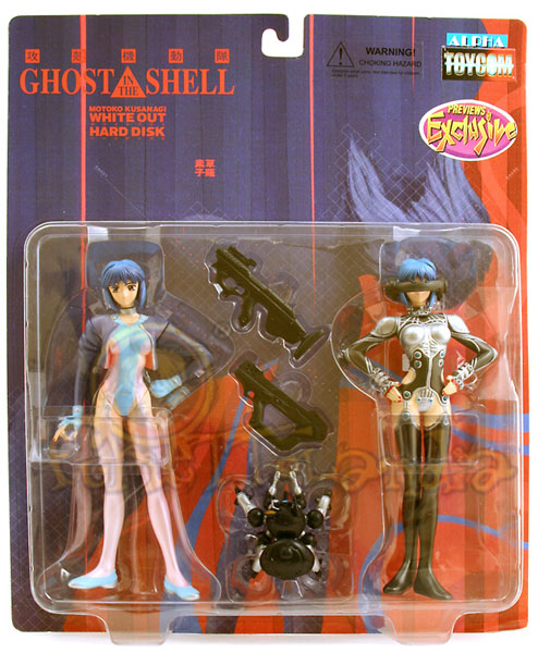 A.F. GHOST IN THE SHELL 2-PACK PREVIEWS EXCLUSIVE (F2)