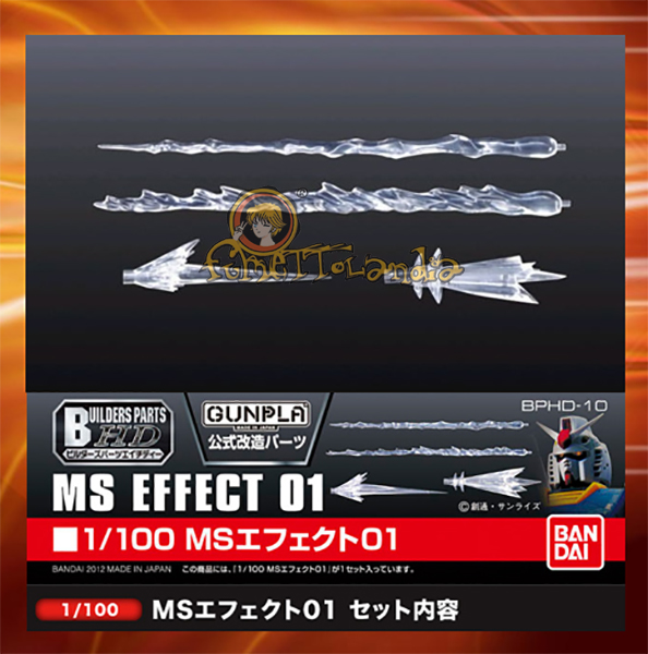 BUILDERS PARTS HD MS EFFECT 01 1/100 (33618)
