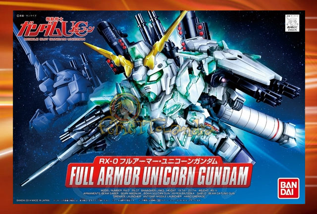 BB #390 FULL ARMOR UNICORN GUNDAM (28666)