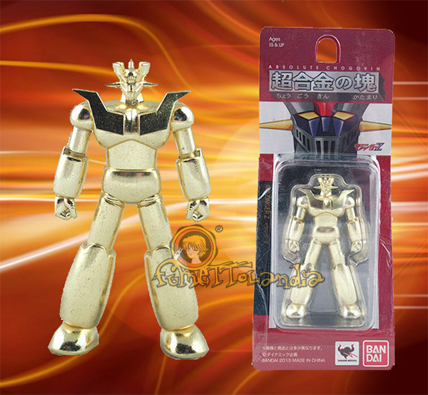 ABSOLUTE CHOGOKIN DYNAMIC MAZINGER Z GOLD