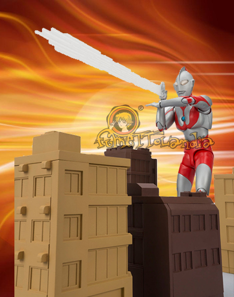 ULTRAMAN 50TH ANNIVERSARY W/ BUILDINGS DELUXE