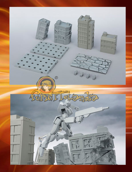 TAMASHII OPTION ACT BUILDING DAMAGE VER.