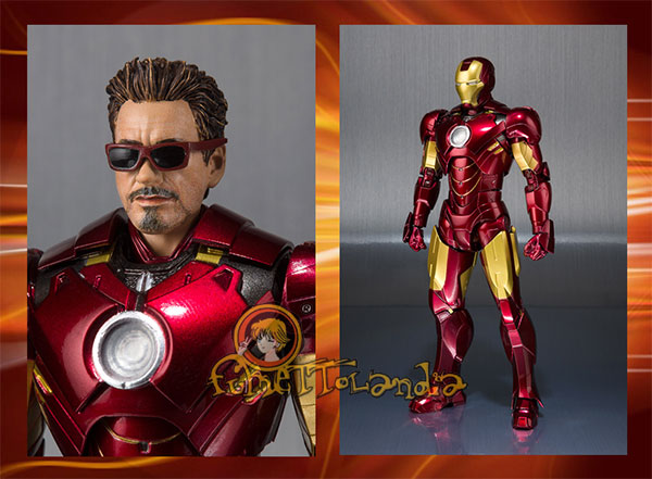 S.H.FIGUARTS IRON MAN MARK IV + HALL OF ARMOR SET