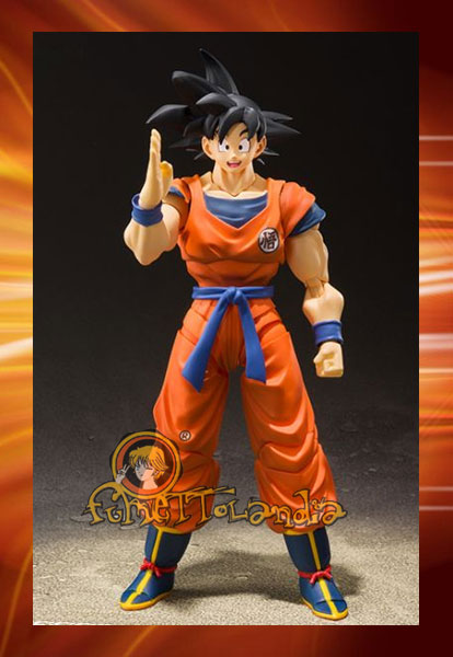 S.H.FIGUARTS DRAGONBALL SON GOKOU EARTH