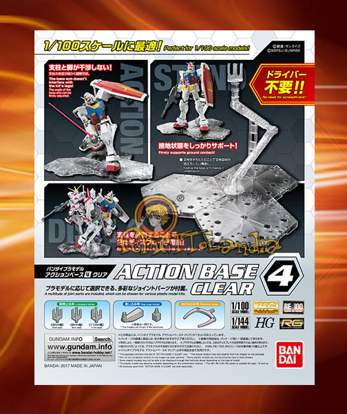 ACTION BASE 4 CLEAR (58091)