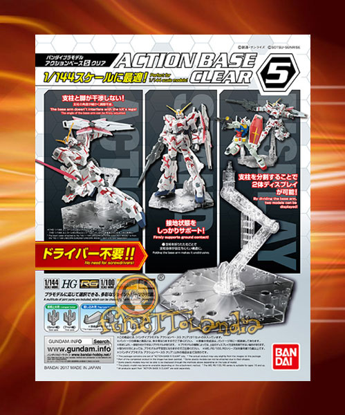 ACTION BASE 5 CLEAR (58093)