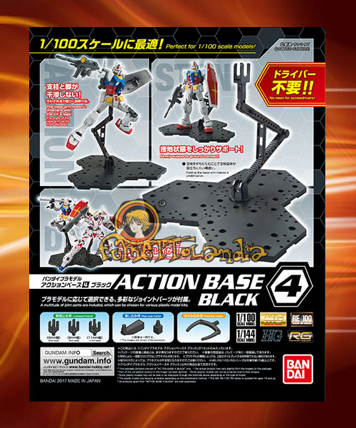 ACTION BASE 4 BLACK (58092)