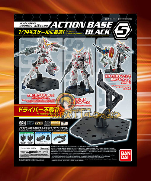ACTION BASE 5 BLACK (58094)