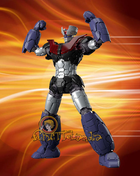 MAZINGER Z INFINITY VERSION MODEL KIT 1/144 (61448)
