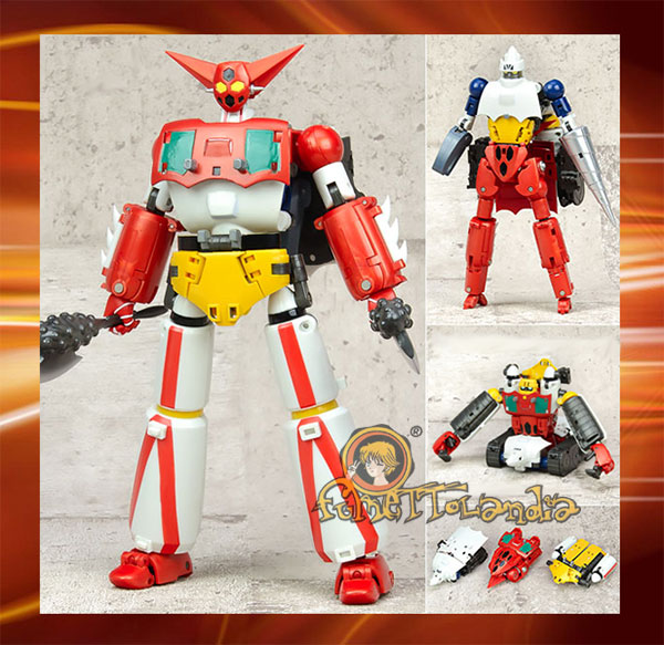 DYNAMIC CHANGE R GETTER ROBOT