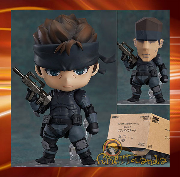 NENDOROID - METAL GEAR SOLID: SOLID SNAKE