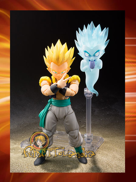 S.H.FIGUARTS DRAGON BALL SUPER SAIYAN GOTENKS