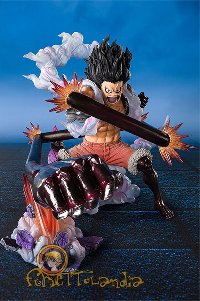 FIGUARTS ZERO ONE PIECE LUFFY GEAR 4 KING COBRA