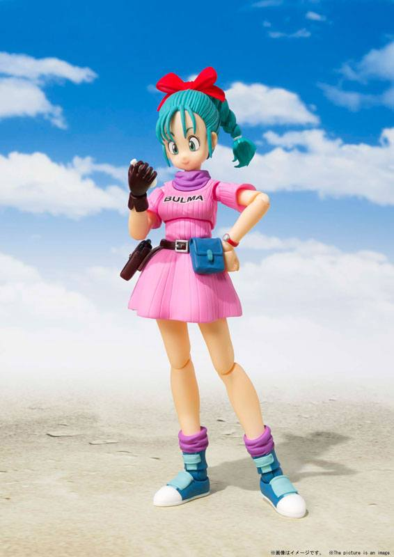 S.H.FIGUARTS DRAGON BALL BULMA ADVENTURE BEGINS