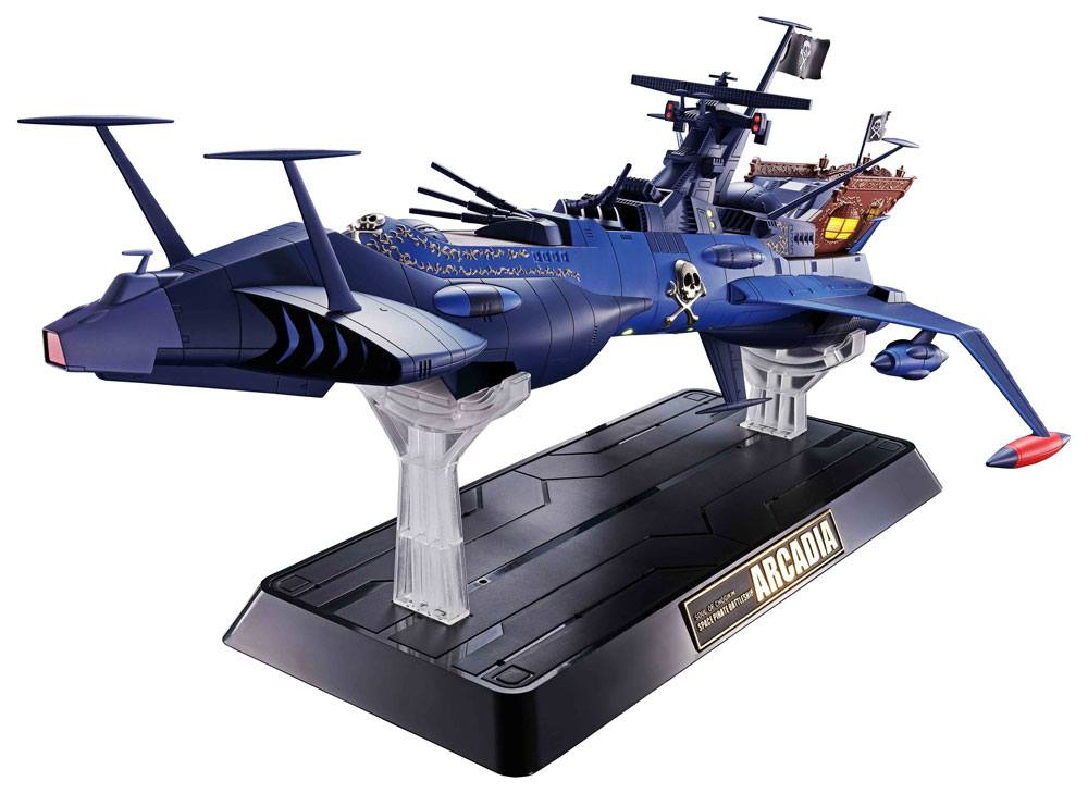 SPACE PIRATE CAPTAIN HARLOCK SOUL OF CHOGOKIN DIECAST MODEL GX-9