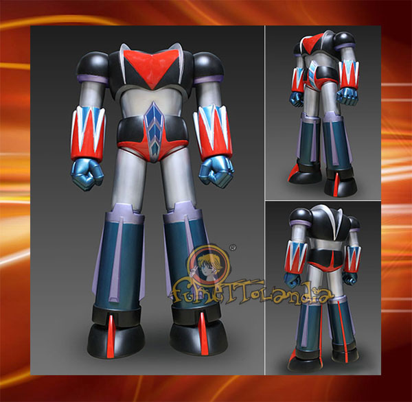 METAL ACTION 'UFO ROBOT GRENDIZER' BODY FOR DIZER SHOOTER