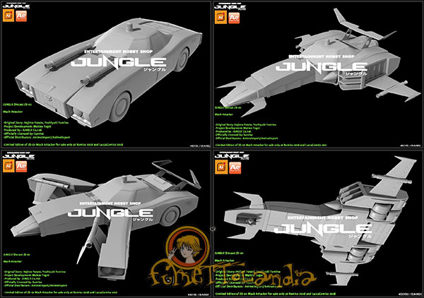 JUNGLE MACH PATROL - DAITARN 3