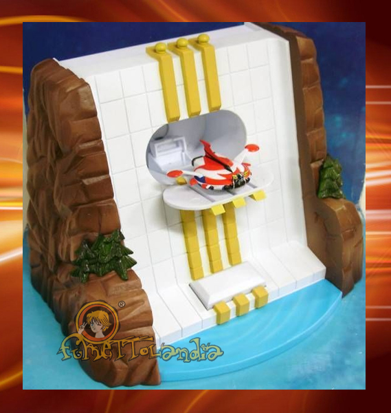 GRENDIZER WATERFALL BASE + EJECTABLE SPAZER