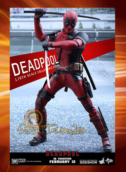 HOT TOYS DEADPOOL 12'