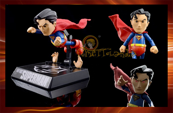 SUPERMAN HYBRID METAL ACTION FIGURE