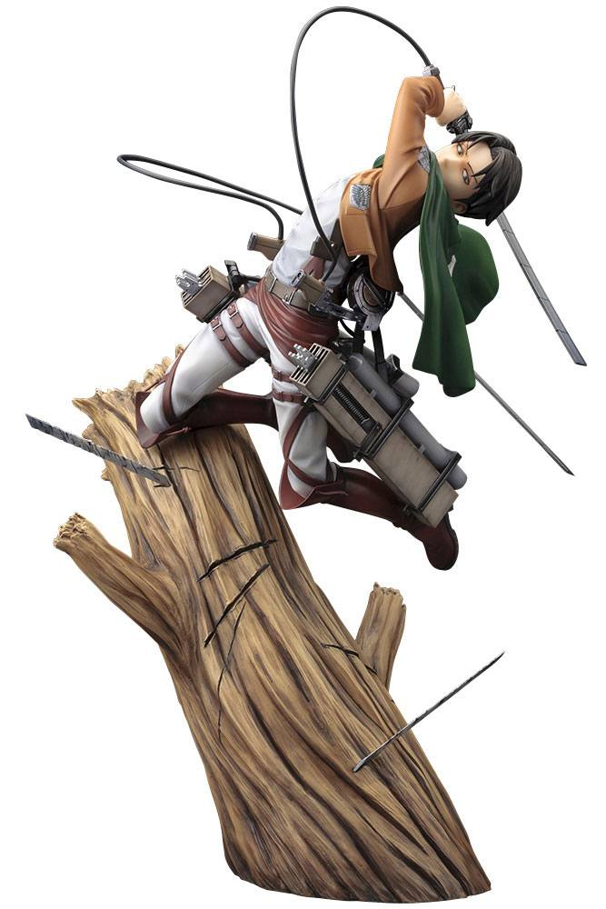 ATTACK ON TITAN ARTFXJ STATUE 1/8 LEVI RENEWAL PACKAGE VER. 28 C