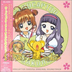 CD JAP CARD CAPTOR SAKURA OST #01