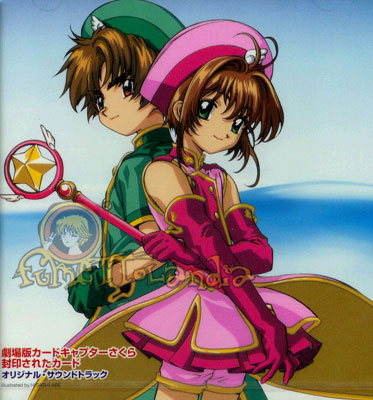 CD JAP CARD CAPTOR SAKURA MOVIE OST