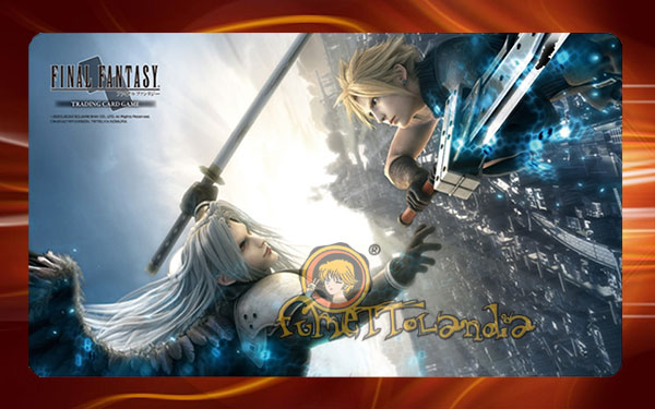 FFTCG FINAL FANTASY CLOUD VS SEPHIROT PLAYMAT (53698)