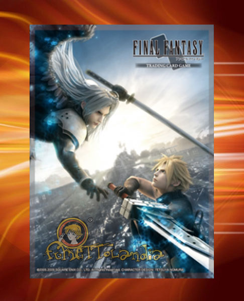 FFTCG FINAL FANTASY CLOUD VS SEPHIROT SLEEVES (53699)