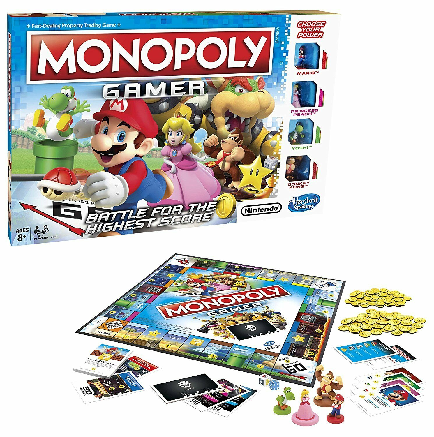 MONOPOLY GAMER SUPER MARIO BROS