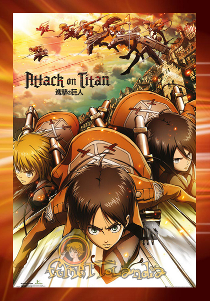 ATTACK ON TITAN POSTER ATTACK