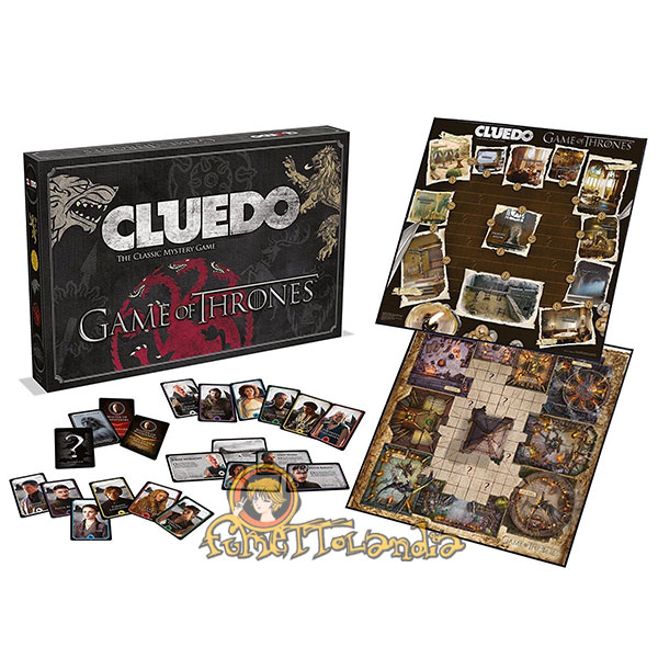CLUEDO GAME OF THRONES