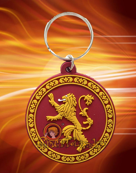 GAME OF THRONES RUBBER KEYCHAIN LANNISTER