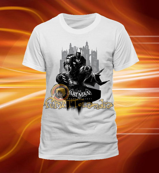 BATMAN ARKHAM KNIGHT SKYLINE T-SHIRT (M)