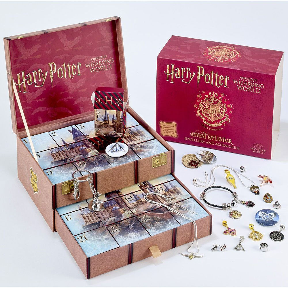 HARRY POTTER JEWELLERY ADVENT CALENDAR 2021 THE CARAT SHOP